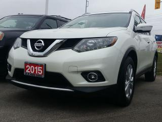 Used 2015 Nissan Rogue SV NAVIGATION SUNROOF 7 SEATER AWD for sale in Brampton, ON