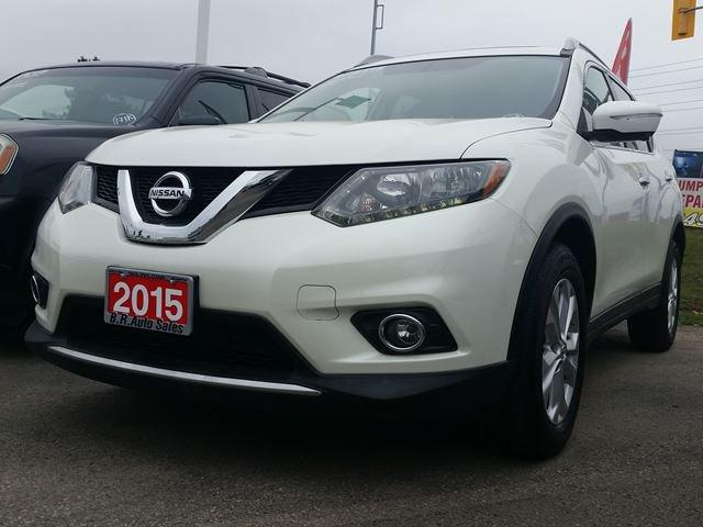 used 2015 nissan rogue sv navigation sunroof 7 seater awd for sale in brampton ontario. Black Bedroom Furniture Sets. Home Design Ideas