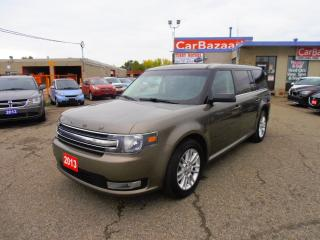 Used 2013 Ford Flex SEL LTHR ROOF 7 PSSGR for sale in Brampton, ON