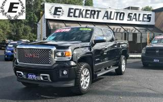 Used 2015 GMC Sierra 1500 Denali Crew Cab 4X4 for sale in Barrie, ON