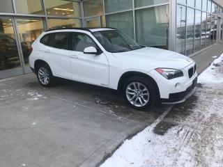 Used 2015 BMW X1 xDrive28i/HEATED SEATS/PANORAMIC SUN ROOF/ for sale in Edmonton, AB