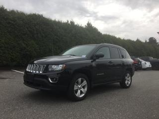 Used 2016 Jeep Compass HIGH ALTTITUDE 4X4 + HEATED FT SEATS + SUNROOF + BLUETOOTH + ALLOYS for sale in Surrey, BC
