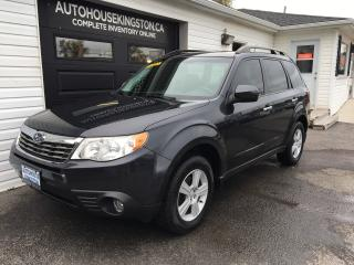 Used 2010 Subaru Forester X for sale in Kingston, ON