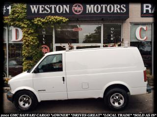 Used 2001 GMC Safari *1 OWNER *DRIVES GREAT *LOCAL TRADE *SOLD AS IS!!! for sale in York, ON