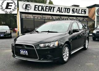 Used 2015 Mitsubishi Lancer ES /BLUETOOTH for sale in Barrie, ON