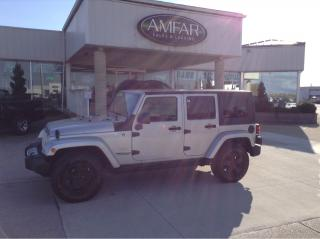 Used 2009 Jeep Wrangler Sahara for sale in Tilbury, ON
