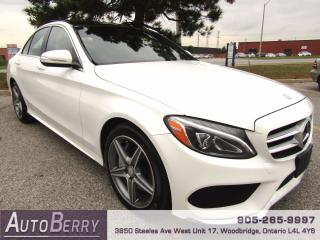 Used 2015 Mercedes-Benz C-Class C300 - 4MATIC - AMG PKG for sale in Woodbridge, ON