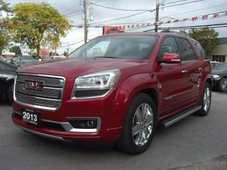 Used 2013 GMC Acadia Denali AWD 7 Passenger for sale in London, ON