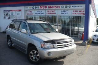 Used 2005 Toyota Highlander LIMITED  LEATHER for sale in Etobicoke, ON
