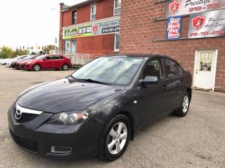 Used 2007 Mazda MAZDA3 NO ACCIDENT - SAFETY/WARRANTY INCLUDED for sale in Cambridge, ON