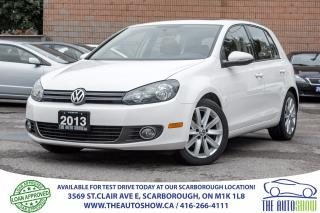 Used 2013 Volkswagen Golf 2.5l Highline NAVI Sunroof Leather BackBluetooth for sale in Caledon, ON