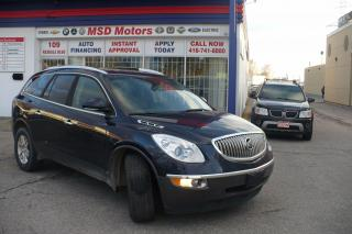 Used 2008 Buick Enclave CX  7 PASSENGER for sale in Etobicoke, ON