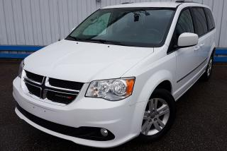 Used 2016 Dodge Grand Caravan CREW *STOW N GO* for sale in Kitchener, ON