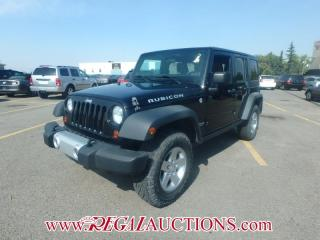 Used 2011 Jeep WRANGLER UNLIMITED RUBICON 4D UTILITY 4WD 3.8L for sale in Calgary, AB