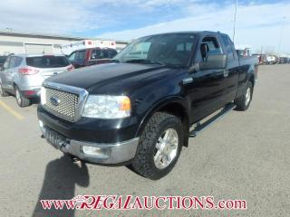 Used 2005 Ford F150 LARIAT SUPERCAB 4WD for sale in Calgary, AB