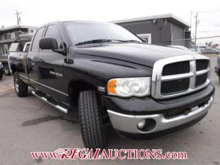 Used 2005 Dodge RAM 1500 SLT QUAD CAB 4WD for sale in Calgary, AB