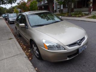 Used 2004 Honda Accord EX-L for sale in Ottawa, ON