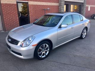 Used 2006 Infiniti G35X Luxury for sale in Hornby, ON