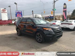 Used 2014 Ford Explorer Sport | LEATHER | NAV | AWD | ROOF | CAM for sale in London, ON