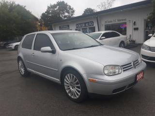 Used 2004 Volkswagen GTI 1.8T for sale in Waterdown, ON