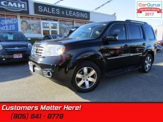 Used 2013 Honda Pilot Touring  4X4, NAV, CAMERA, ROOF, LEATHER, P/GATE, HS for sale in St Catharines, ON
