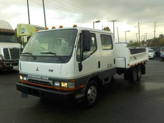 Used 2003 Mitsubishi FUSO FE640 Crew Cab Dump Truck Dually Diesel for sale in Burnaby, BC