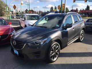 Used 2016 Mazda CX-5 Grand Touring for sale in Burnaby, BC