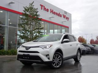 Used 2016 Toyota RAV4 LIMITED AWD for sale in Abbotsford, BC