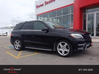 Used 2014 Mercedes-Benz ML-Class ML 350 BlueTEC for sale in Owen Sound, ON
