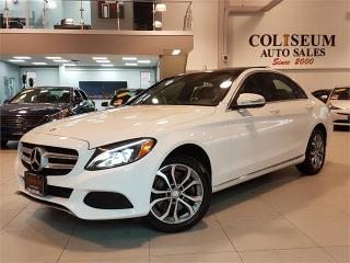 Used 2015 Mercedes-Benz C-Class C300 4MATIC-NAVIGATION-PANO ROOF-ONLY 88KM for sale in York, ON