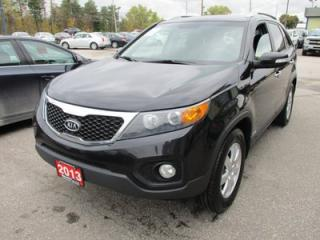 Used 2013 Kia Sorento 'GREAT VALUE' LX MODEL 5 PASSENGER 3.5L - V6.. AWD.. HEATED SEATS.. BLUETOOTH.. KEYLESS ENTRY & START.. for sale in Bradford, ON