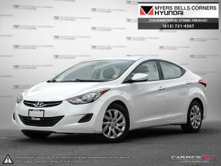 Used 2013 Hyundai Elantra for sale in Nepean, ON