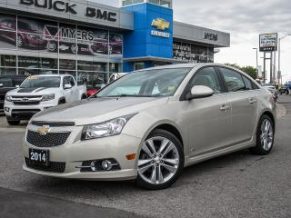 Used 2014 Chevrolet Cruze 2LT, RS PKG, LEATHER AUTO *100% MINT* for sale in Ottawa, ON