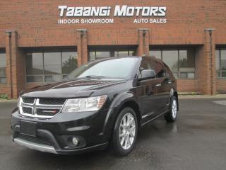 Used 2013 Dodge Journey R/T | AWD | NAVIGATION | 7 PASSENGER | for sale in Mississauga, ON