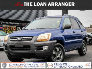 Used 2005 Kia Sportage LX for sale in Barrie, ON