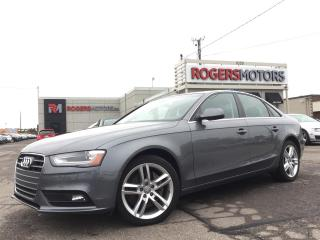 Used 2013 Audi A4 2.0T QTRO - 6SPD - NAVI - LEATHER - SUNROOF for sale in Oakville, ON