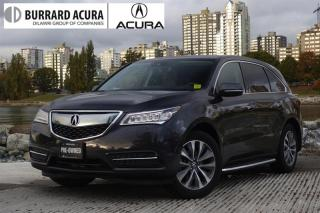 Used 2016 Acura MDX Navi Navigation - Super Handling All Wheel Drive! for sale in Vancouver, BC