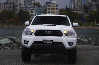 Used 2013 Toyota Tacoma 4x4 Dbl Cab V6 5A TRD - Sport Package - Leather, Low KM!! for sale in Vancouver, BC