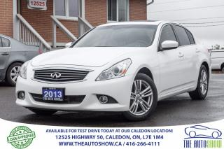 Used 2013 Infiniti G37X  SPORT AWD NAVI BACK UP CAMERA SUNROOF for sale in Caledon, ON