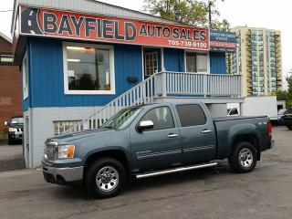 Used 2010 GMC Sierra 1500 Crew Cab 4x4 **4.8L/Power Group** for sale in Barrie, ON