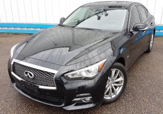 Used 2014 Infiniti Q50 AWD *NAVIGATION* for sale in Kitchener, ON