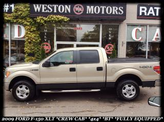 Used 2009 Ford F-150 4X4*XLT*CREW CAB*FULLY LOADED* for sale in York, ON