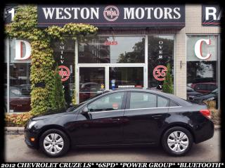Used 2012 Chevrolet Cruze LS*6SPD*POWER GROUP*BLUETOOTH!!* for sale in York, ON