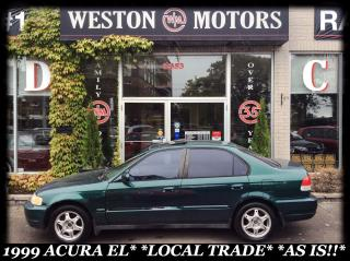 Used 1999 Acura EL EL*LOCAL TRADE*AS IS!!* for sale in York, ON