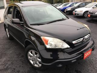 Used 2009 Honda CR-V EX/AUTO/NAVI/BACKUP CAMERA/SUNROOF/4WD/GAS MISER for sale in Scarborough, ON