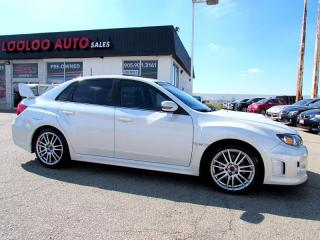 Used 2011 Subaru WRX STI SPORT-TECH SEDAN NAVIGATION CERTIFIED WARR for sale in Milton, ON
