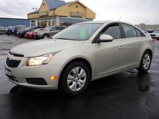 Used 2014 Chevrolet Cruze LT 1.4L Ecotec RemoteStart Bluetooth for sale in Brantford, ON