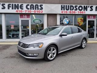Used 2013 Volkswagen Passat COMFORTLINE for sale in North York, ON