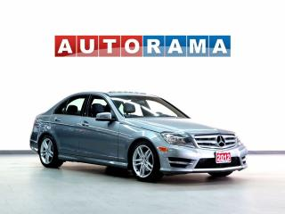 Used 2012 Mercedes-Benz C250 AWD SUNROOF LEATHER BLUETOOTH for sale in North York, ON