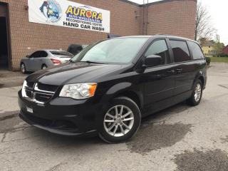 Used 2013 Dodge Grand Caravan SXT - FULL STOW N'GO - DVD - BACK UP CAM for sale in Aurora, ON